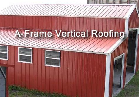 barn roof types roofing styles for your metal structure barn or shed