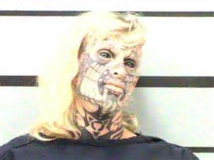 tattooed freak show performer busted on pot charge