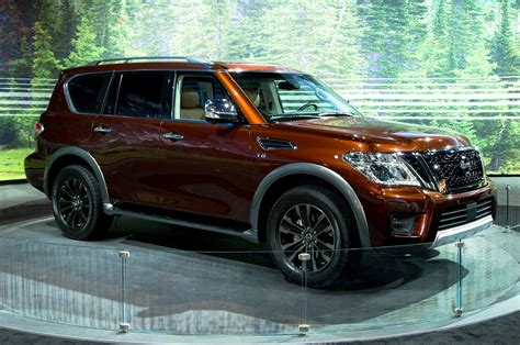 nissan armada 2017 2017 nissan armada first look review motor trend