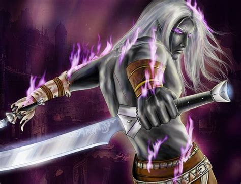 drizzt 016 hunters blades drizzt do urden from r a salvatore s dark elf trilogy