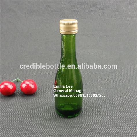 green liquor handling 50ml small green liquor bottles with top metal lids buy 50ml small liquor bottle