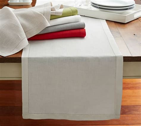 20 accent table cloths table runners linen hemstitch table runner hi