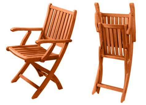 sedie da giardino in legno arredo per esterni tavolo legno 4 sedie pieghevoli