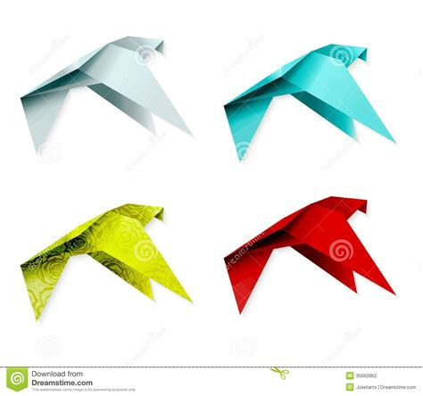 Origami Birds For Sale - origami colorful origami birds flying sky background
