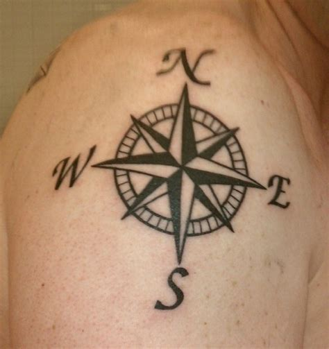 tattoo ideaa compass picture shoulder ideas