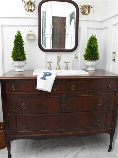 vintage style bathroom vanity antique collection with
