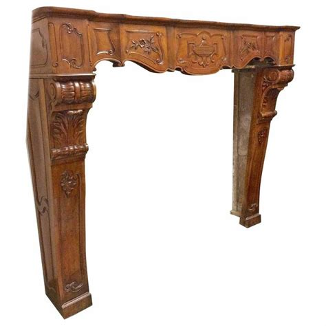 antique wood mantel at 1stdibs