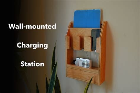 Wall Mounted Charging Station Organizer charging station youtube
