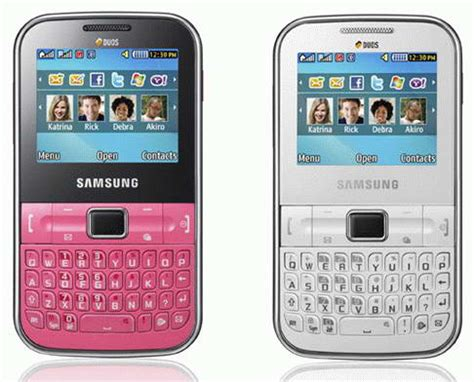 Hp Samsung Keypad jual samsung ch t gt c3222 dual on techno everything4u