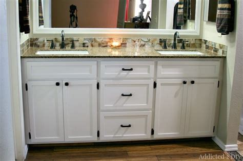 how to build a bathroom cabinet creative diy bathroom vanity projects the budget decorator