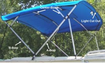 how to install bimini top on pontoon pontoon bimini canvas replacement for 4 bow square tube