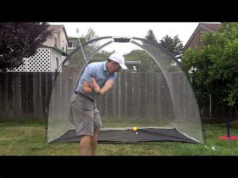 backyard golf drills the indoor golf hitting net practice net for home garage