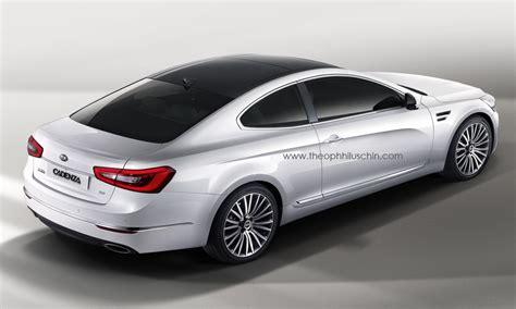 Kia Cadenza Images 2014 Kia Cadenza Coupe Rendering Autoevolution