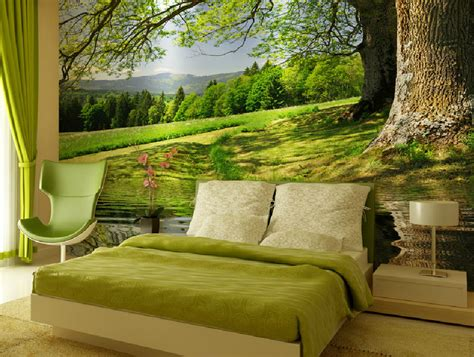 forest wallpaper for bedroom forest bedroom wallpaper