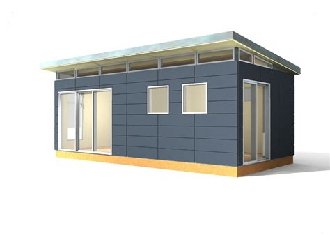 Modern Prefab Shed Kits by Modern Shed Kit 12 X 24 Prefabricated Shed Kits