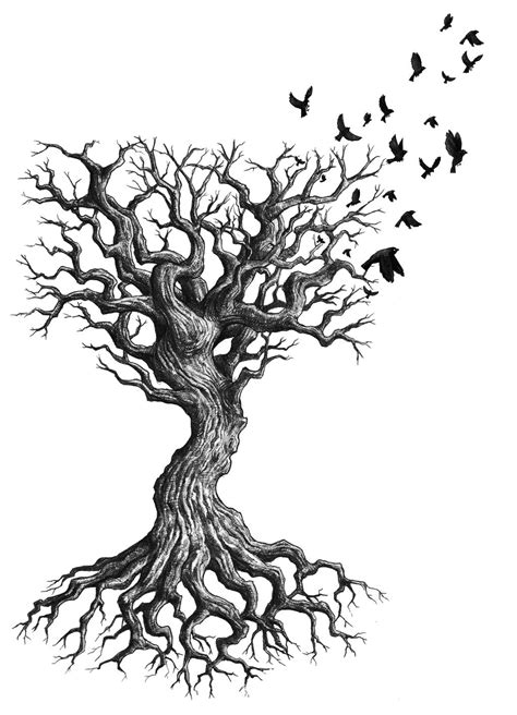 tree with roots tattoo tree tattoos designs ideas and meaning tattoos for you