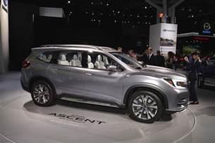 Subaru Suv Subaru Ascent Suv Concept Aims To Help Spread The