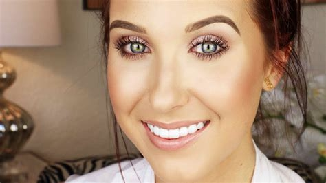 natural makeup tutorial drugstore everyday drugstore makeup tutorial jaclyn hill youtube