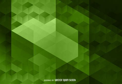 polygon pattern background download abstract green polygon backdrop vector download