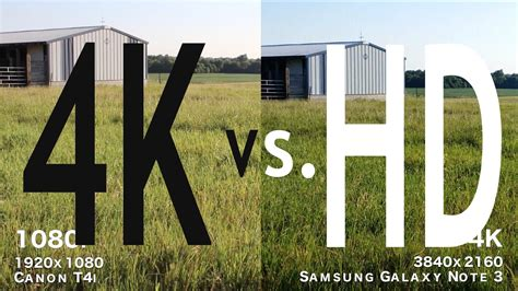 imagenes 4k vs full hd 4k vs hd side by side comparisons part 2 4k youtube