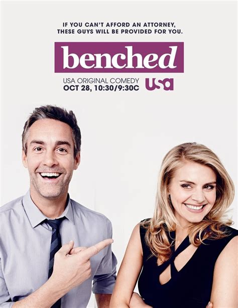 benched tv series benched dvd release date