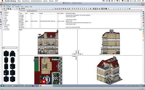 lego mlcad tutorial moc townhouse lego town eurobricks forums