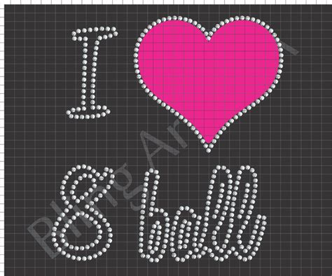 8 ball rhinestone design pattern download file eps plt svg