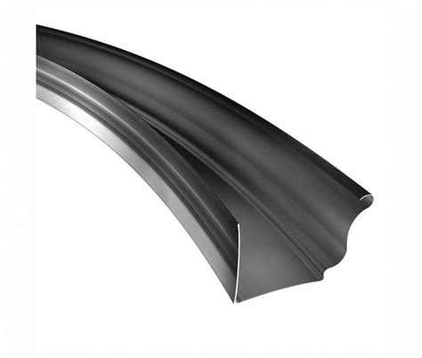 K Funnel Gutter - k style radius gutter 050 aluminum classic gutter systems