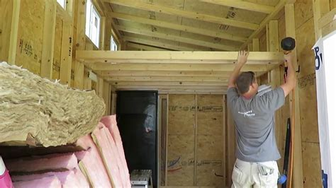 tiny house loft part  youtube