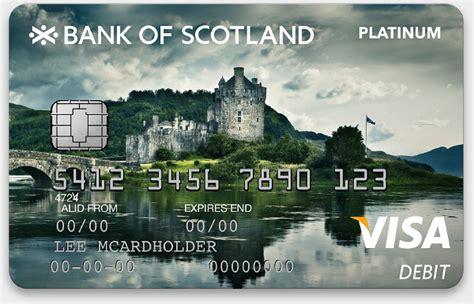 banc of scotland bank of scotland cards on behance