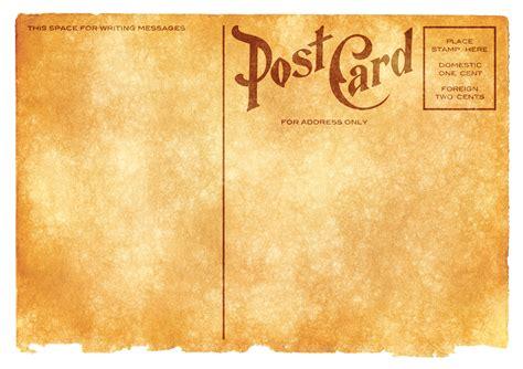 vintage postcard template vintage postcard png image pngpix