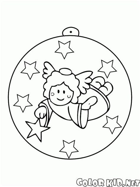 Coloring Page Tree Ornaments Tree Ornaments Coloring Pages