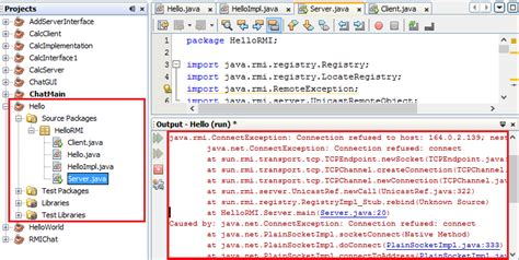 advanced java tutorial using netbeans java how to build this rmi project using netbeans