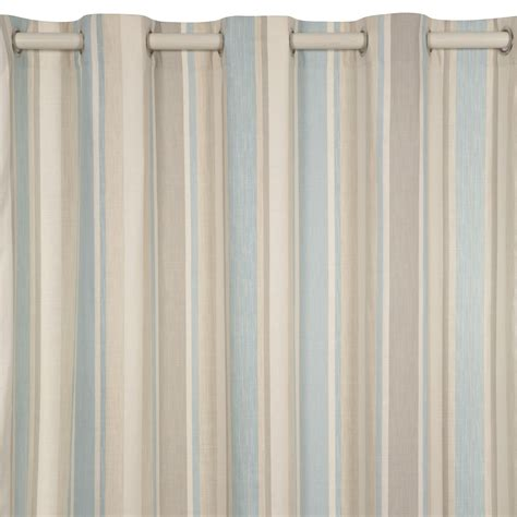 striped blue curtains duck egg blue and white striped curtains curtain