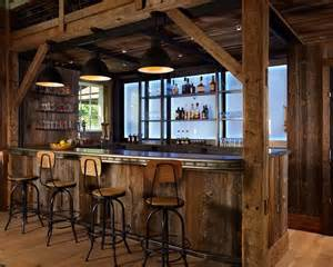Rustic Home Bar Rustic Home Bar Furniture Ideas For The House