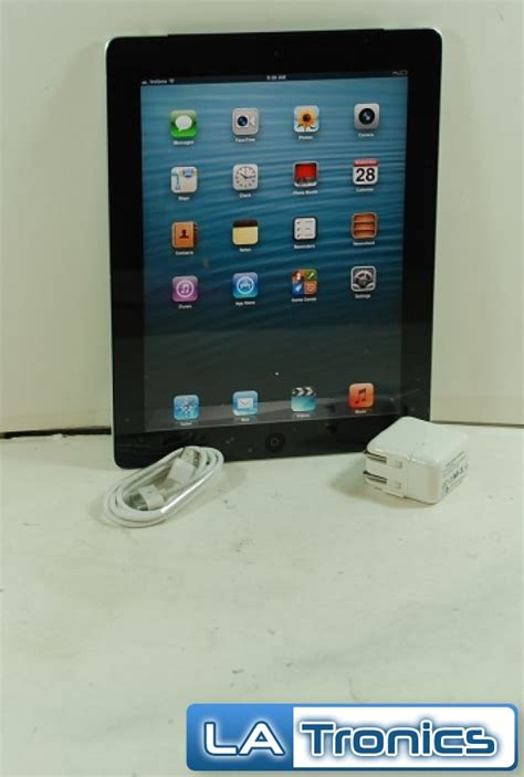 3 16gb 3g Wifi Second apple 2 16gb verizon wifi 3g 2nd mc755ll a black a1397 tablet read ebay