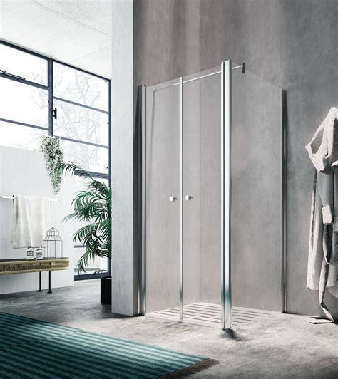 doccia doppia glass box doccia lula doppia porta battente con lato