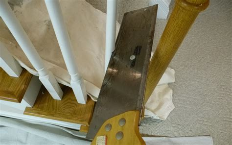 Replacing Banisters by Stair Spindles Wood How To Install Wrought Iron Stair