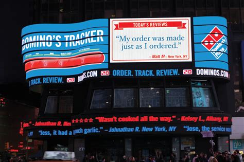 dominos opening times new year s day pie in the sky domino s flips switch on times square