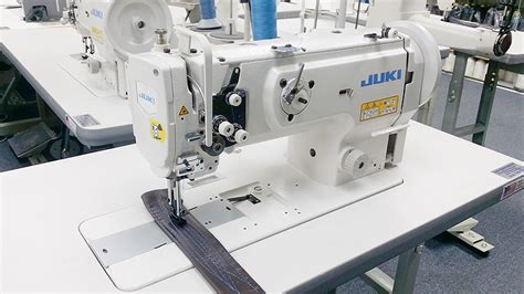 juki upholstery sewing machine 1 needle flat bed juki lu 1508n walking foot sewing