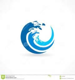 water wave splash icon stock vector image 41579031