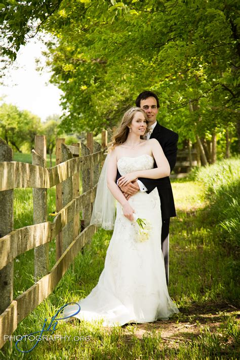 Wedding Portrait by Mr Mrs Reason A Lovely Apple Orchard Wedding