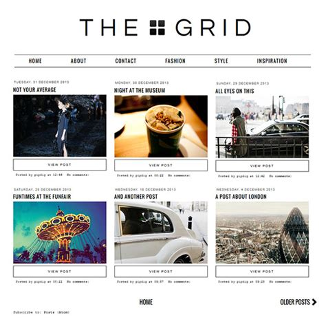 blogger grid template grid layout blogger template blogspot grid theme pipdig
