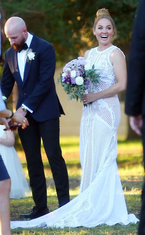 erika christensen wedding dress erika christensen s wedding dress revealed arabia weddings