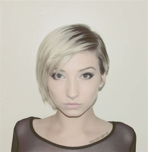 cute hair cuts that are short on one side and longer on the other side i like this short on one and longer on other fygwsh