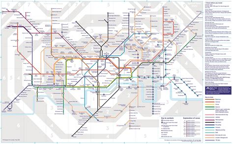 underground map new map marks launch of tfl rail