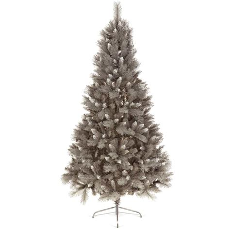 artificial grey silver tip tree 7ft silver tip grey tree 6ft on sale fast delivery greenfingers