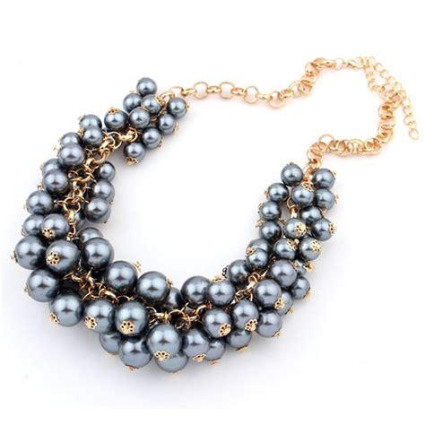 chunky necklace new stlye gold chain chunky bib choker