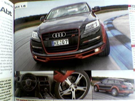 Audi Q7 Ausleihen abt q7 langsamer als original hoher wertverlust audi