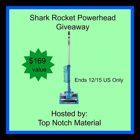 Shark Fast Giveaway Com - shark rocket powerhead vacuum giveaway ends 12 15 optimistic mommy